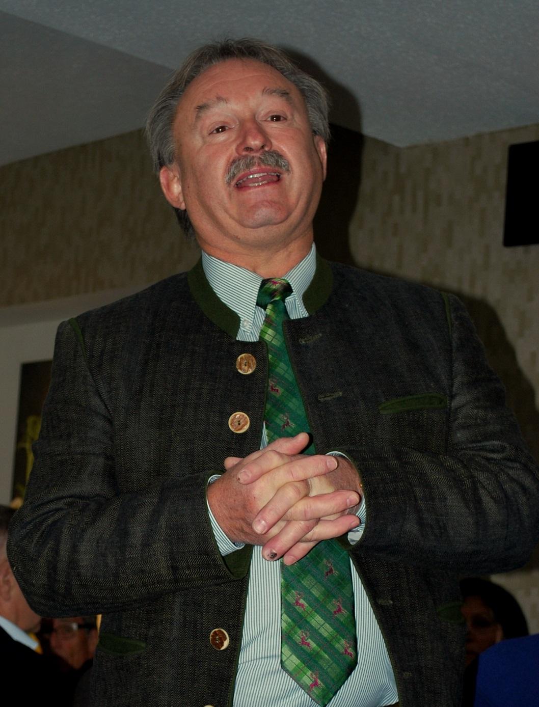 Dr. Heinrich Krodel erzählt von seine Jagd